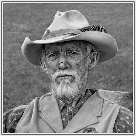by Judy Rosanno - Black & White Portraits & People ( march 2018, texas, fredericksburg,  )