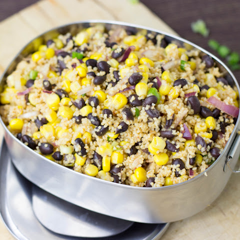 High Protein Black Bean and Corn Summer Salad (10 Minutes, Vegan)