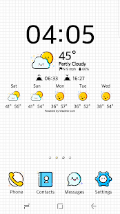 Smiling Weather Icons Set for Chronus screenshot for Android