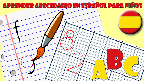 ABC Learn Spanish Letters