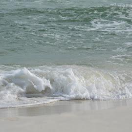 Splash Waves by Kayla House - Landscapes Beaches ( water, sand, splash, waves, calming, ocean, sandy, beach, relaxing, sandy beaches, beaches, great, vacation, florida, summer )