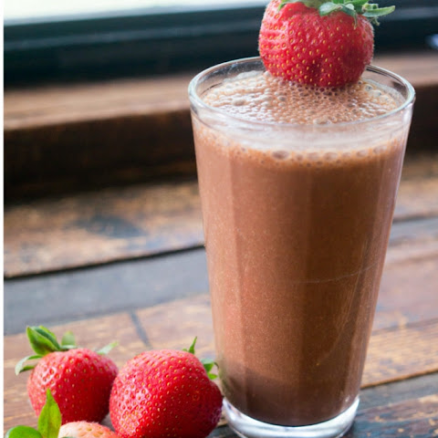 Healthy Strawberry Mocha Frappuccino