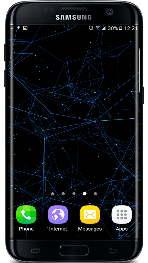 Particle Plexus Live Wallpaper Screenshot 2