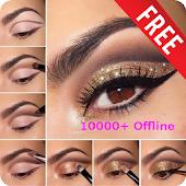 Free Download 10000+ Eye Makeup Step By Step HD (Offline) APK for Samsung