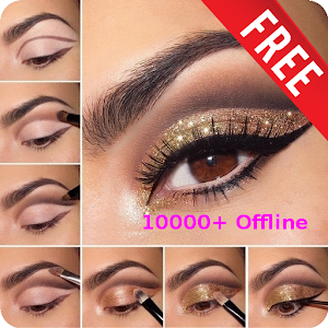 10000+ Eye Makeup Step By Step HD (Offline) For PC