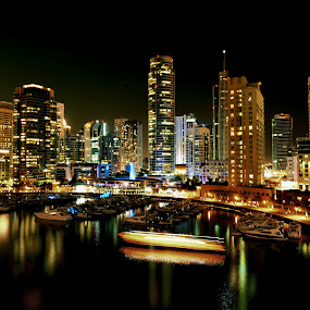 at JBR Dubai by Don Eugene Roces - City,  Street & Park  Skylines