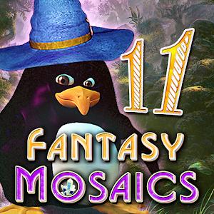 Cover art Fantasy Mosaics 11