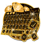 Gold Diamond Keyboard Theme Icon
