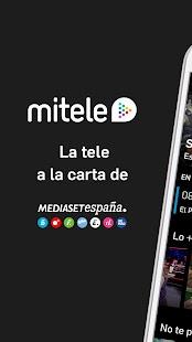 Mitele - Mediaset Spain VOD TV for pc