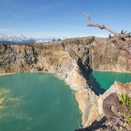 Kelimutu Lakes, Flores island, Indonesia by Leonardus Nyoman - Landscapes Travel ( crater, adventure, floresisland, volcano, kelimutu, indonesia, flores exotic tours, travel, phototours, tours, ;andscape )