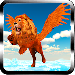 Flying Lion - Wild Simulator Icon