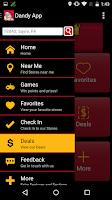 Screenshot of Dandy App