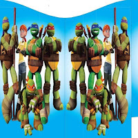 Teenage Mutant Ninja Turtle Bouncy Castles fo rHire Surbiton/Surrey