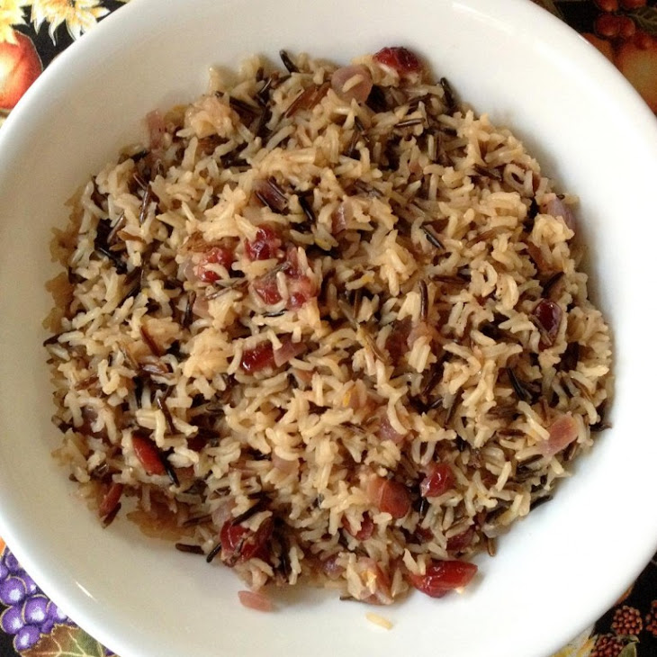 Orange Cranberry Wild Rice Recipe | Yummly