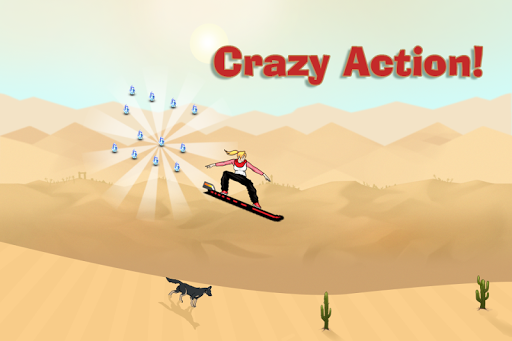 Justin venture Skiing Stunt - screenshot