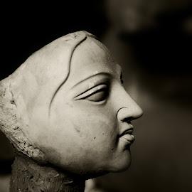 DURGA PUJA by Biswajit Mukherjee - Public Holidays Thanksgiving ( waiting, joy, kolkata, bengali, durga puja, hope )