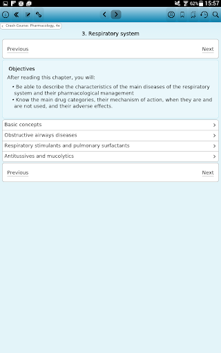 Crash Course: Pharmacology, 4e - screenshot