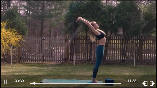 GoView360YOGA Fitness app screenshot for Android