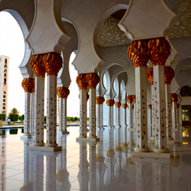 Grand Mosque by Jbern Eugenio - Buildings & Architecture Other Exteriors ( mosque, uae, architectural, architectural detail, abu dhabi, design )