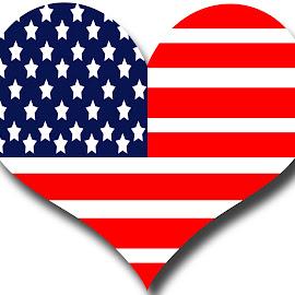by Dipali S - Illustration Holiday ( isolated, element, united, america, symbol, national, illustration, white, waving, image, states, shape, patriotism, stripes, usa, nation, backdrop, patriot, american, banner )