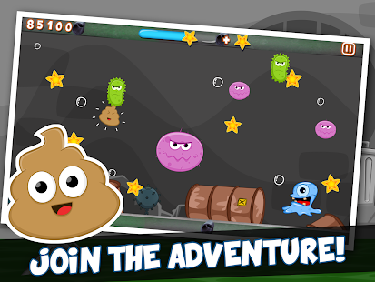 Farting Poo Go: Fart Poop Run! - screenshot