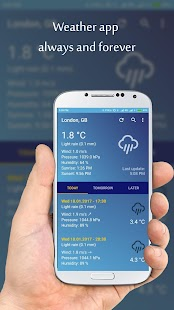 Weather App screenshot for Android