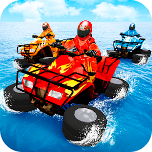 Water Surfing Quad Stunt For PC / Windows 7/8/10 / Mac – Free Download