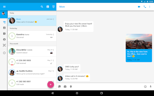 Text Me - Free Texting & Calls APK for Bluestacks