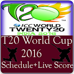 T20 World Cup 2016 Fixtures APK Image