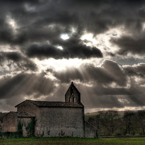 Sun Shines Through... by Matt Cooper - Buildings & Architecture Places of Worship