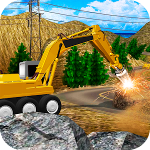 Heavy Excavator Stone Driller Simulator For PC (Windows & MAC)