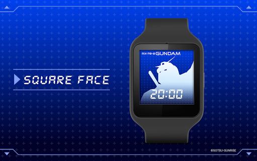 Gundam RX-78-2 Watch face - screenshot