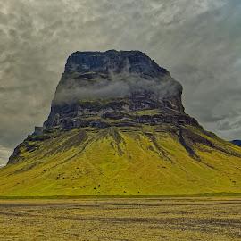 Single mountain in Iceland by Michaela Firešová - Landscapes Mountains & Hills ( landcape, single mountain, mountain )