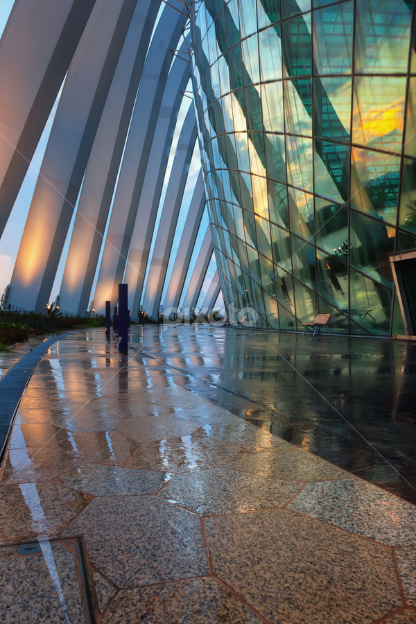 Architectural shot of the Flower Dome in Marina Bay Sands, Singapore by Macbrian Mun - Buildings & Architecture Architectural Detail ( interior, detail, old, reflection, exterior, dome, travel, architecture, singapore, city, sands, ancient, style, ornament, asia, marina, flower, building, structure, decoration, texture, art, tourism, ornamental, landmark, pattern, bay, background, architectural, antique, garden, culture, design, pillars )