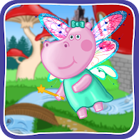 Hippo Puzzles: Princess For PC (Windows And Mac)