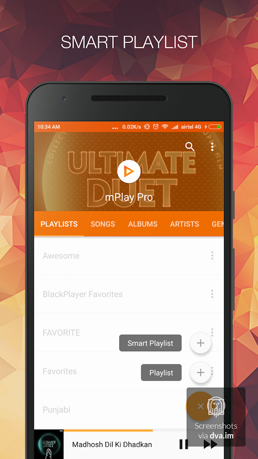 Music Player - mPlay Pro Screenshot 5