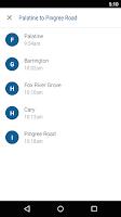 Screenshot of Ride Metra