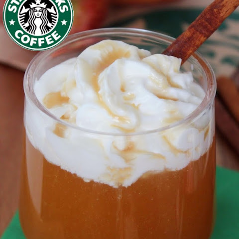 Copycat Starbucks Caramel Apple Spice Cider AND Cinnamon Dolce Syrup