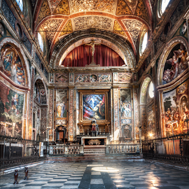 Church of San Vittore, Meda by Andrea Conti - Buildings & Architecture Places of Worship ( interior, church, architecture, brianza, monza, italia, ceiling, san vittore, chiesa, cathedral, meda, paintings, italy, frescos )