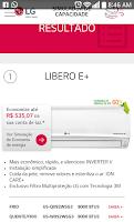 Screenshot of Ar Condicionado LG