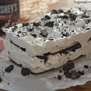 Ice Cream Sandwich Hot Fudge Cake