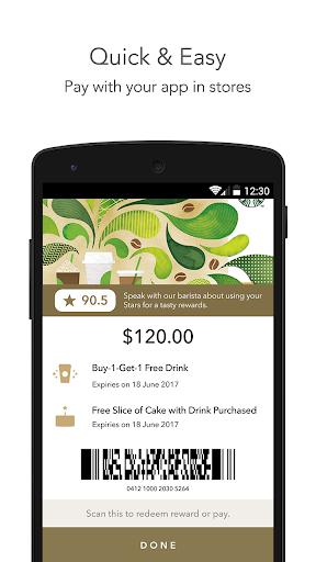 Starbucks Singapore screenshot 2