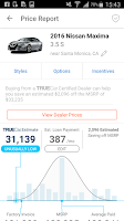Screenshot of TrueCar