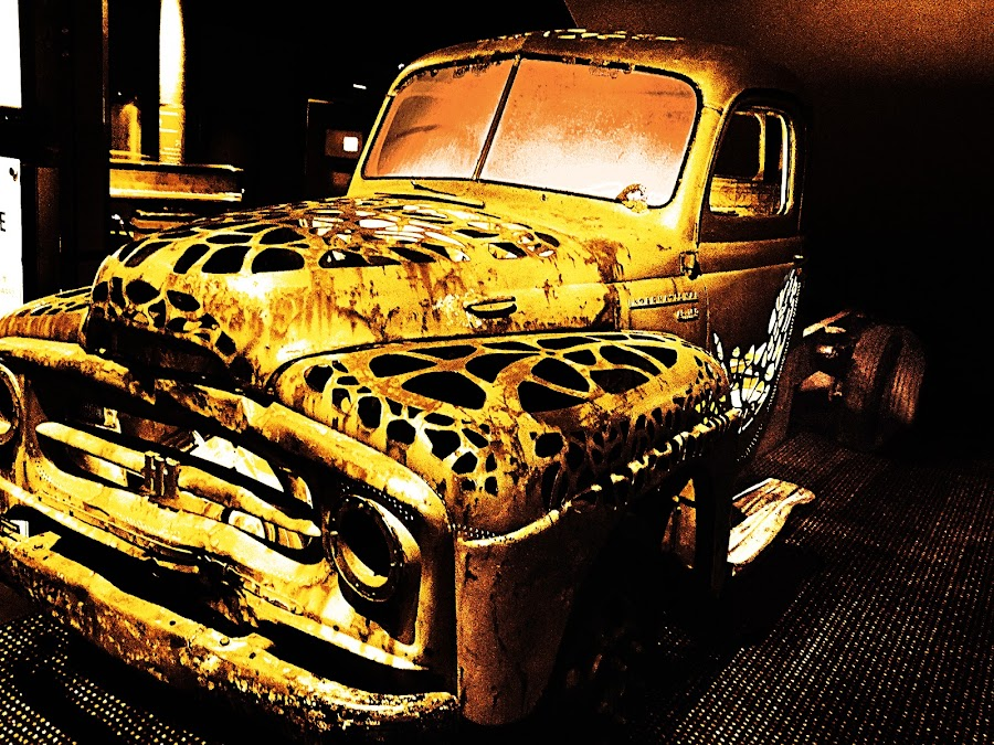 Rusty Truck by Tiahn Anneliese - Transportation Automobiles