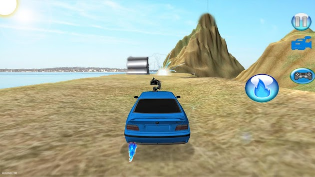 Fast Car Racing & Shooting Hurdle Simulator apk screenshot