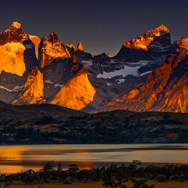 Torres del paine by Stanley P. - Landscapes Travel
