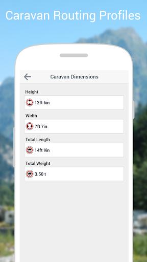 CoPilot Caravan Europe - screenshot