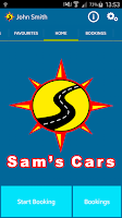 Screenshot of Sams Cars Ltd