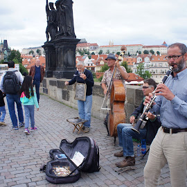 Clarinettist by Luboš Zámiš - People Musicians & Entertainers