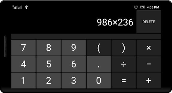 My Calculator - screenshot